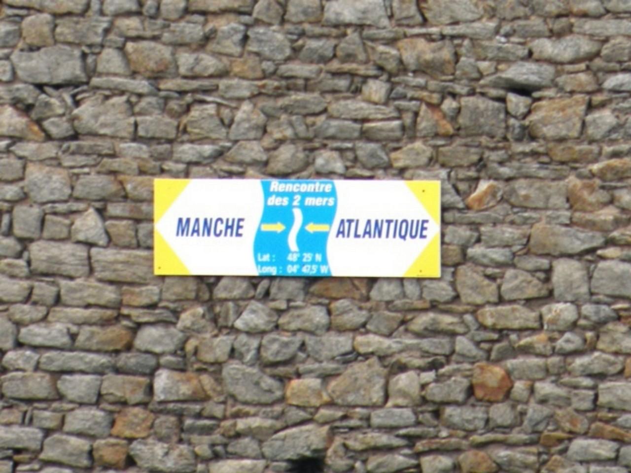 Limite entre la Manche et l'Atlantique