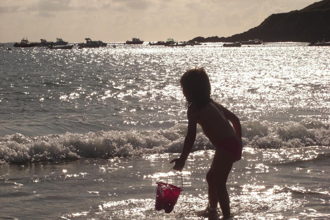 Jouer dans l'eau!