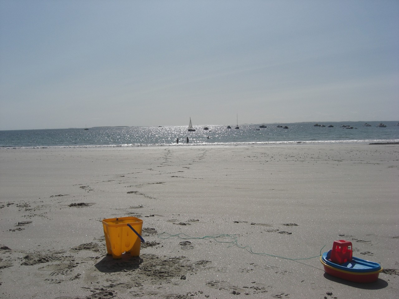 Construire des châteaux de sable!