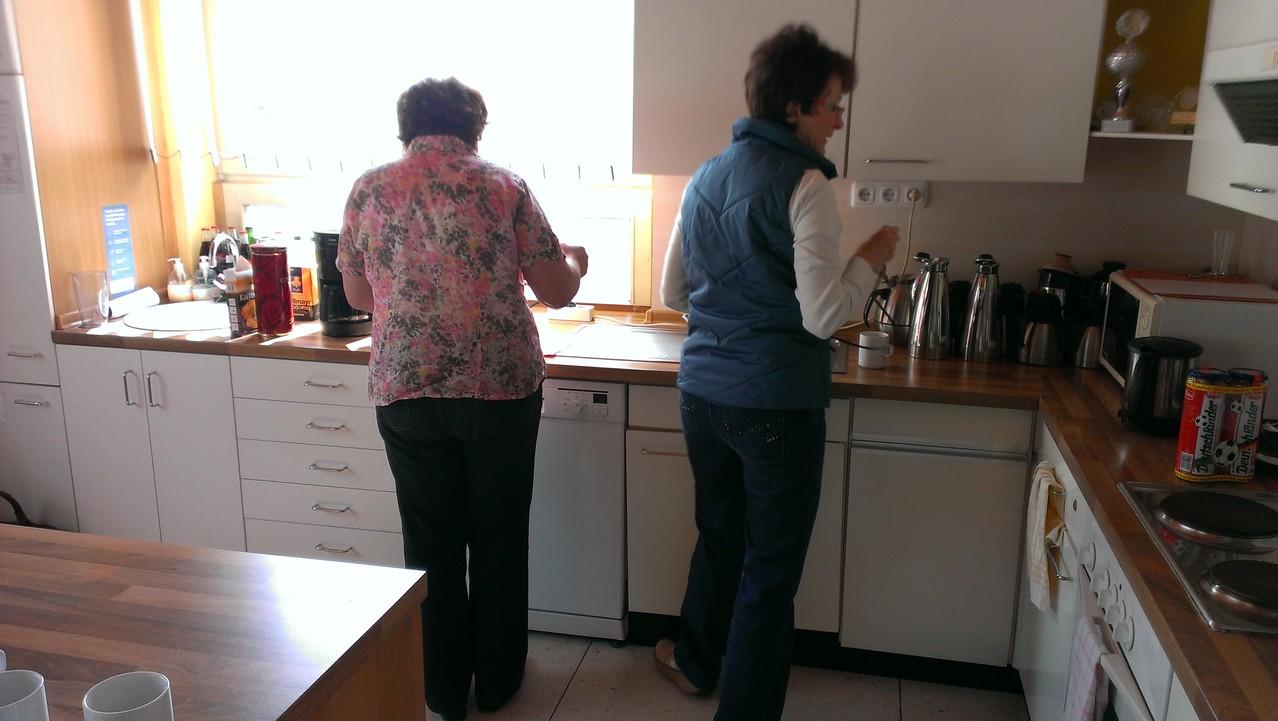 Das Küchenteam.