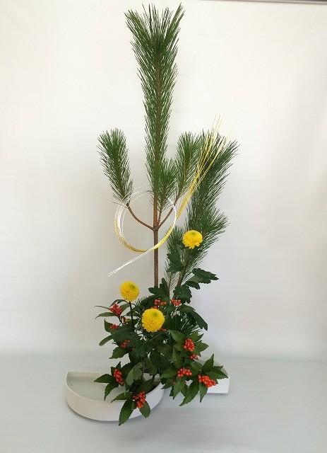 2015.12.29 お正月の祝い花    by Katsuさん