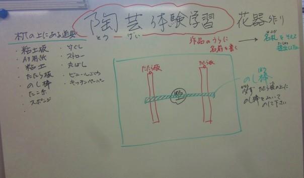 作品の完成が今からとても楽しみです。中畑先生と松下先生、ご指導ありがとうございました。