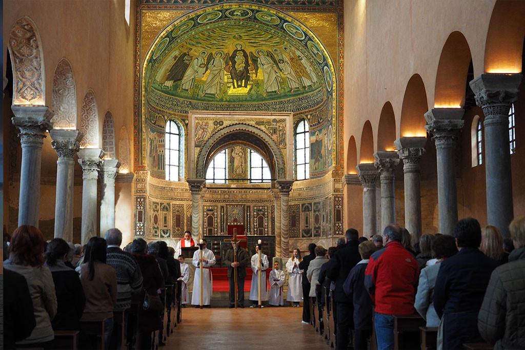 Porec - Euphrasius Basilika
