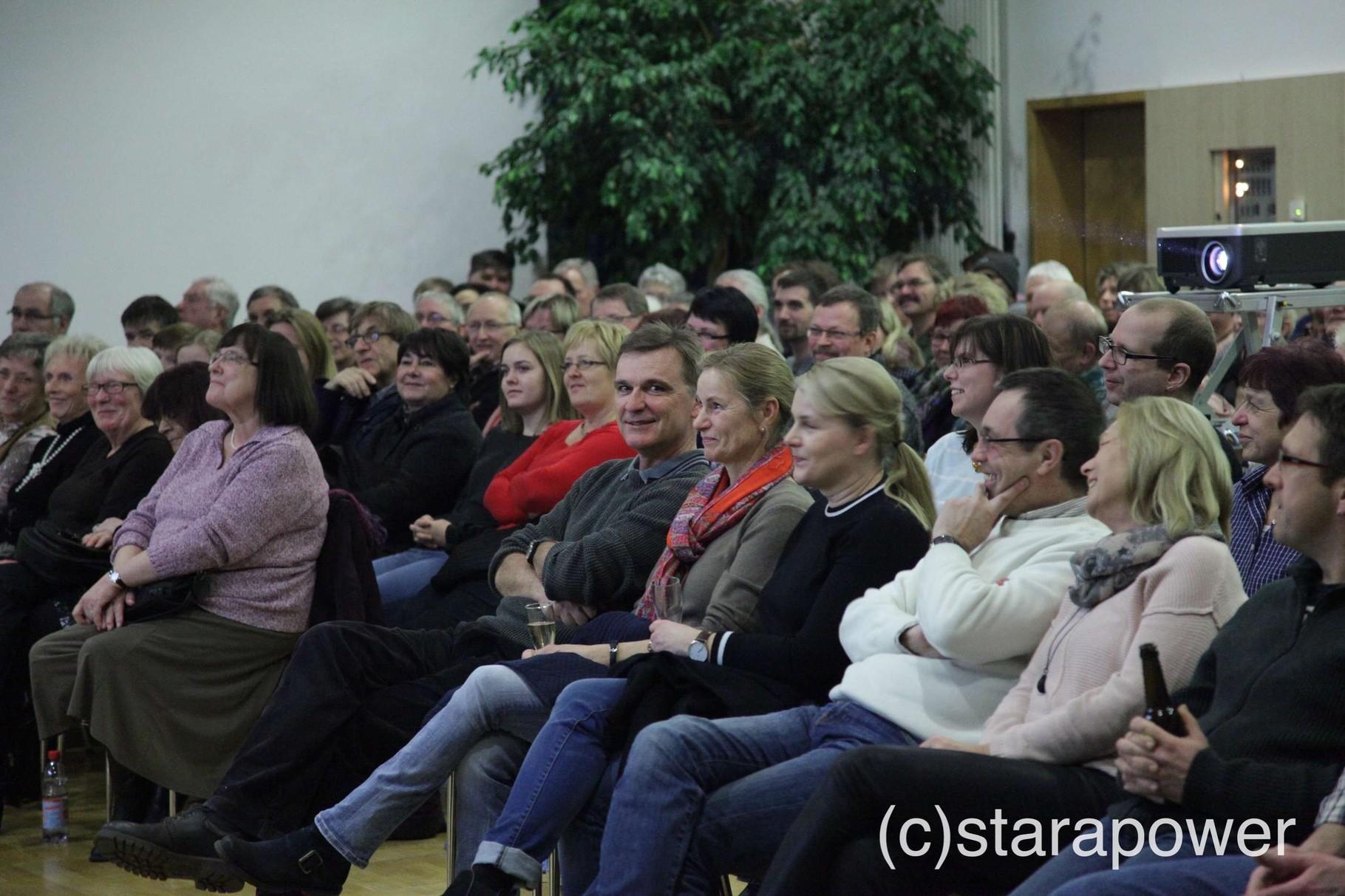 Ein tolles Publikum...