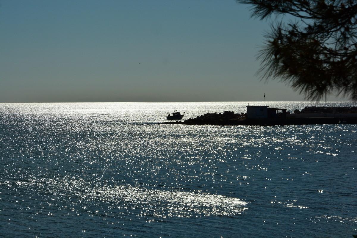 Lichtspiele am Meer