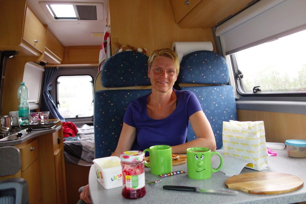 Unterwegs-Frühstück in Affi (Südspitze Gardasee)