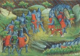 Besançon - BM - ms. 0865, Bataille de Rosebecque, folio 133v