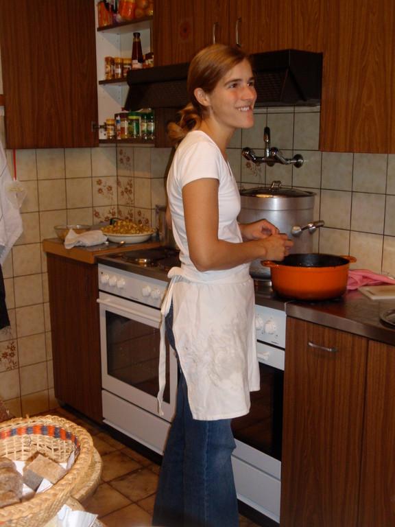 ...Küchenchefin...