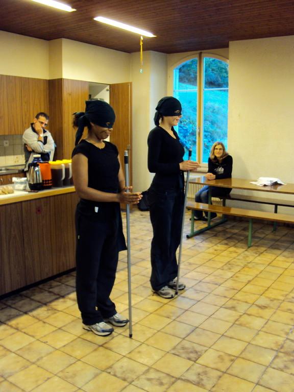 Ankunft im japanischen Ninja-Ausbildungslager...