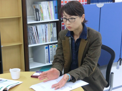 ニッコー・ファインメック(株)  代表取締役社長 小野寺 真澄さん