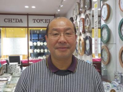 店主 千田 隆 さん