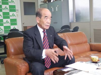 いわて平泉農業協同組合 代表理事組合長 鈴木 昭男 さん