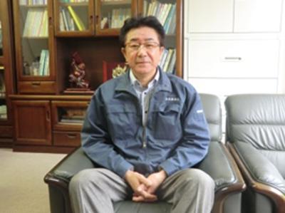 代表取締役社長 黒澤(くろさわ) 一成(かずしげ)さん