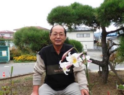 自治会長 鈴木孝男様 (一関市東山地域行政区長 協議会 会長)