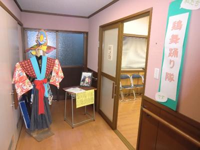 中里中学校で長年継承されてきた鶏舞。同校の閉校に伴い活動を引き継いだ「鶏舞踊り隊」の活動紹介のコーナー。