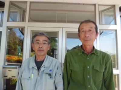 会 長:米倉昌樹さん(左) 副会長:今野良平さん(右)