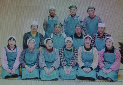 大平そば愛好会の皆さん (佐藤千宏さん:写真中段左端)