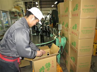 地元のお米で磐乃井ならではの酒造り。今年も味わい豊かな新酒が出来上がりました。