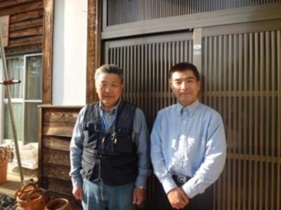 佐藤静雄さん、市嶋豊さん