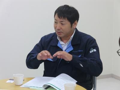 クリーンセンター花泉(有)  取締役営業部長 菅原 健二さん