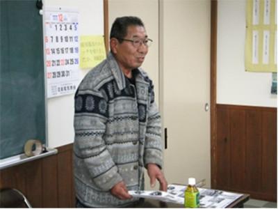 続いては老松活性化同志会の小野寺登会長から、活性化同志会のお話を伺いました。