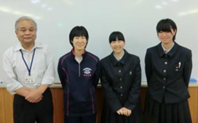左から、 千葉秀一さん、遠藤京花さん、 菊地唯さん、菅原裕美さん