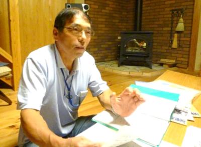 自治会長 熊谷福男さん