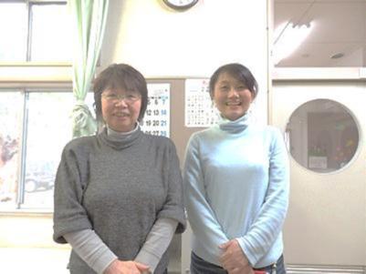 理事長の小野寺さん(左) 副理事長の鈴木さん(右)