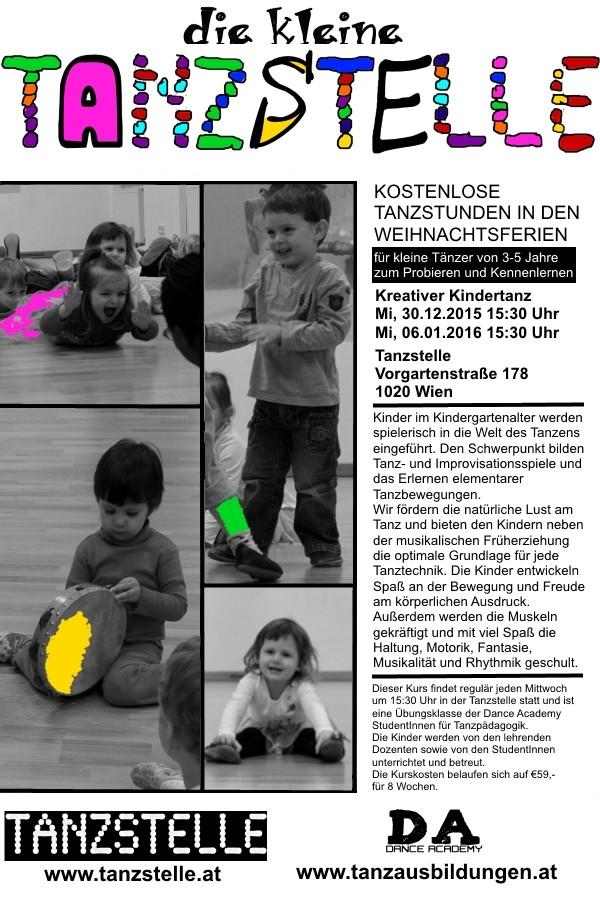 NEU: Kreativer Kindertanz in der Tanzstelle