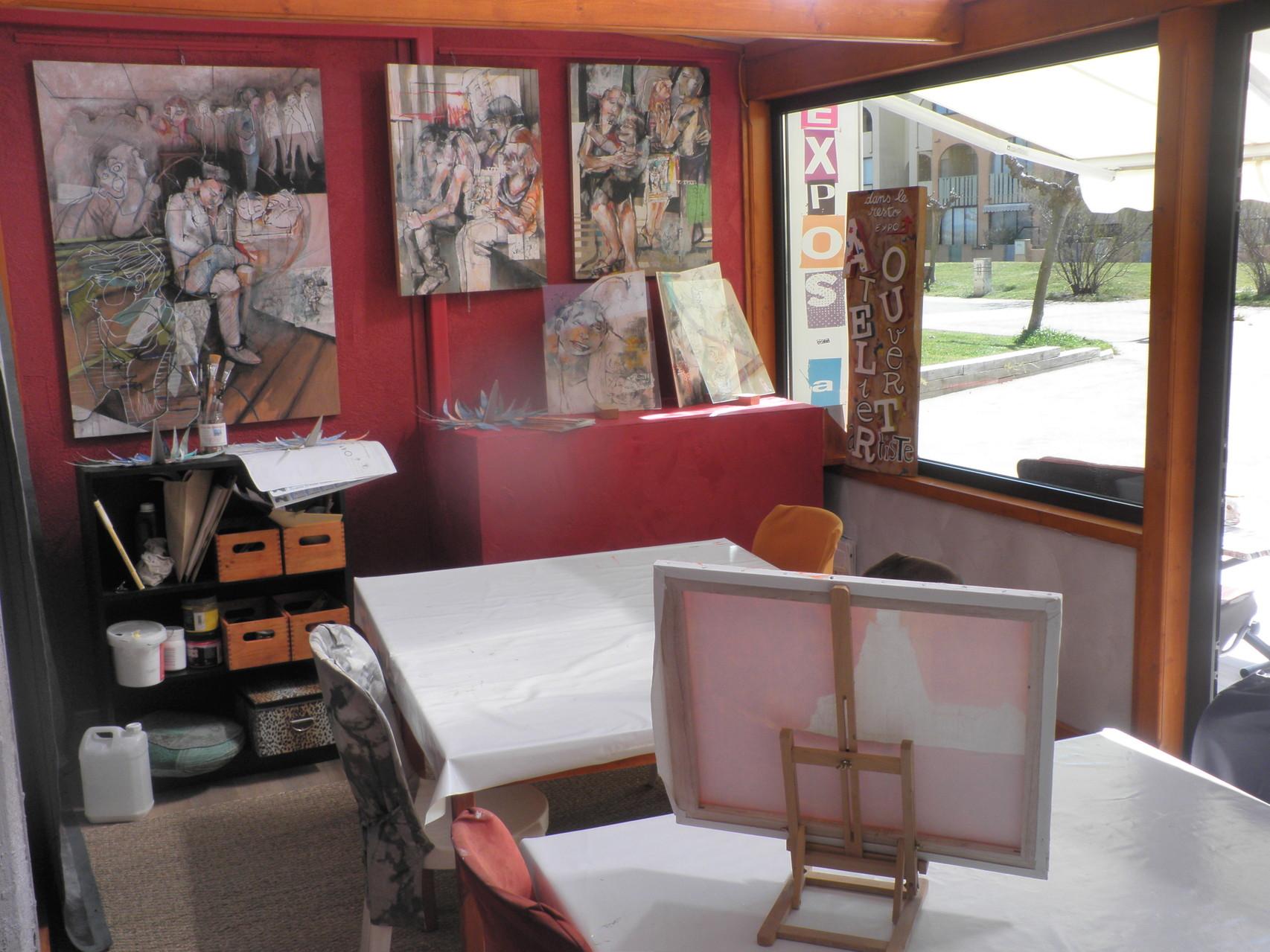 L'atelier de l'association Agit'hé à Port-Barcarès