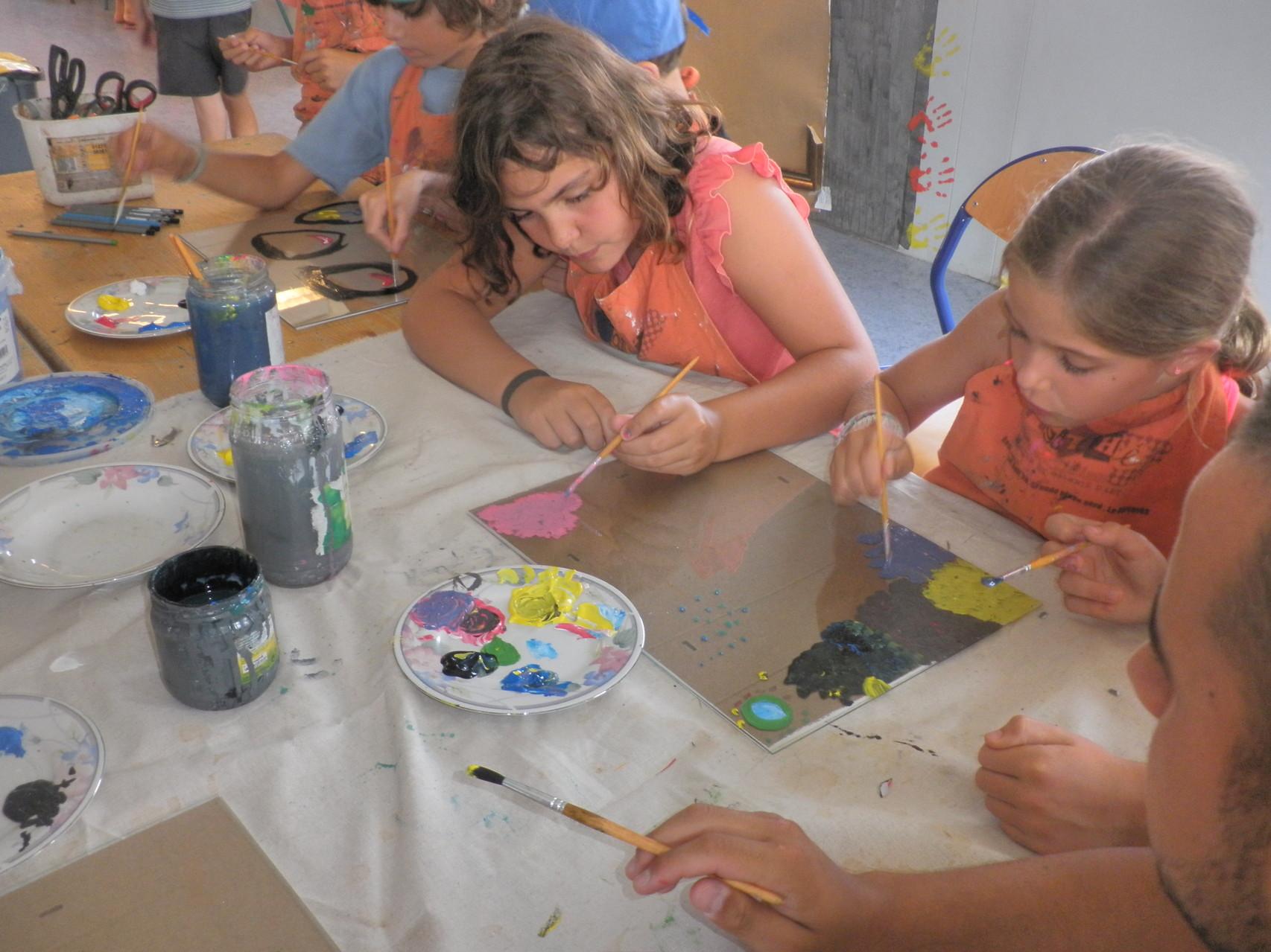 Peinture sur verre à Montescot