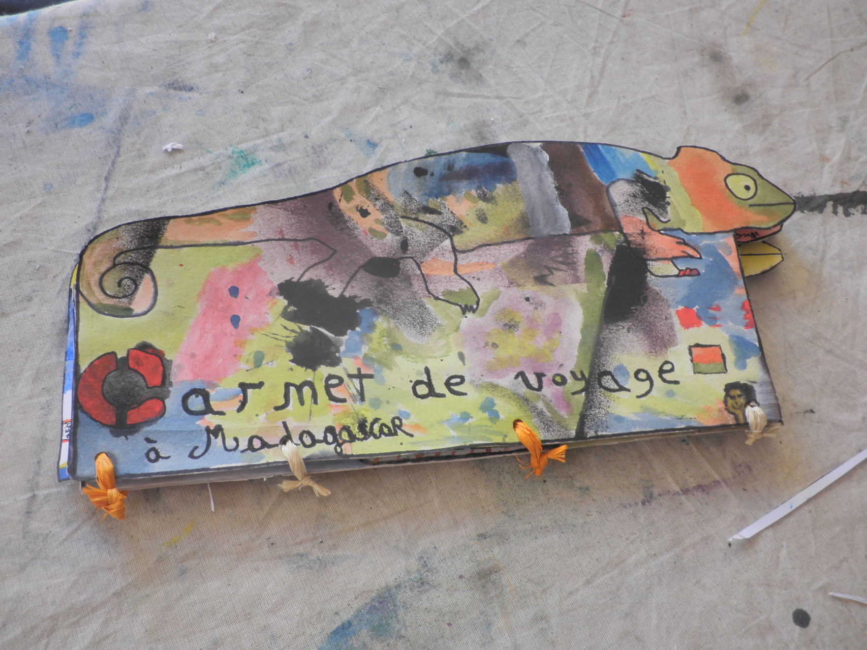 Le beau carnet de Madagascar...