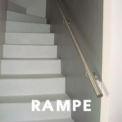 Main courante et Rampe d'escalier