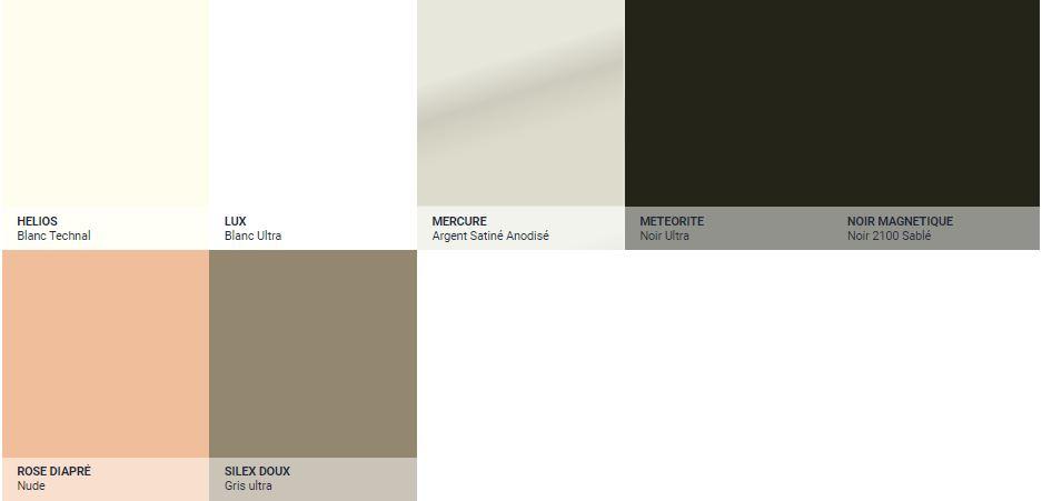 Coloris selection technal