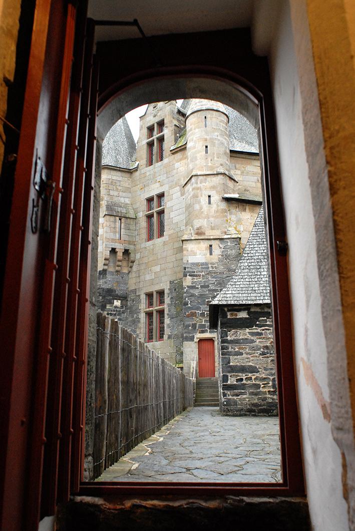 Passage par la tour de l'Argenterie