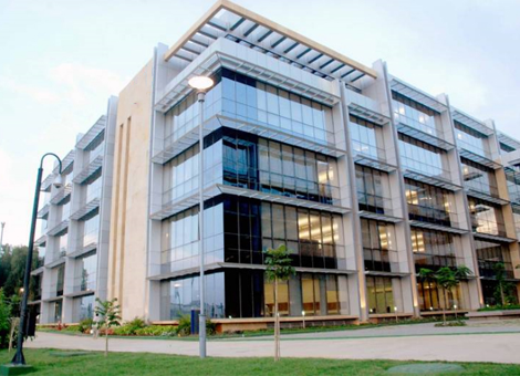 Client's campus in Bangalore