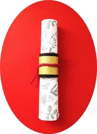 クイリングの紙ナプキンリングの画像2