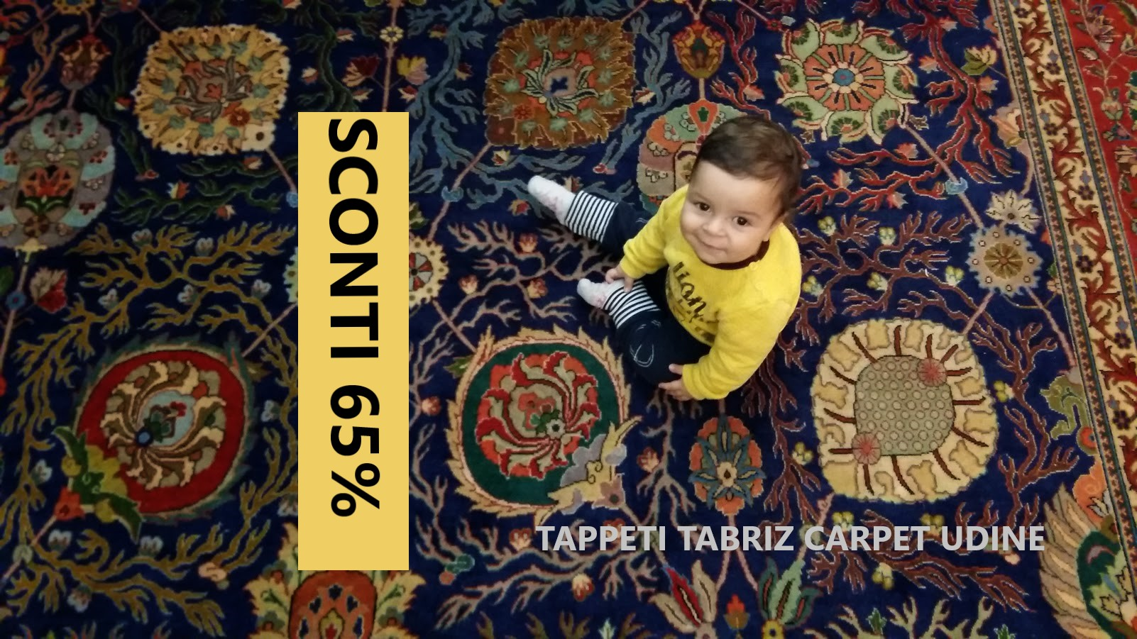 offerta tappeti persiani con sconto 65% su tutti tappeti Campoformido (UD)