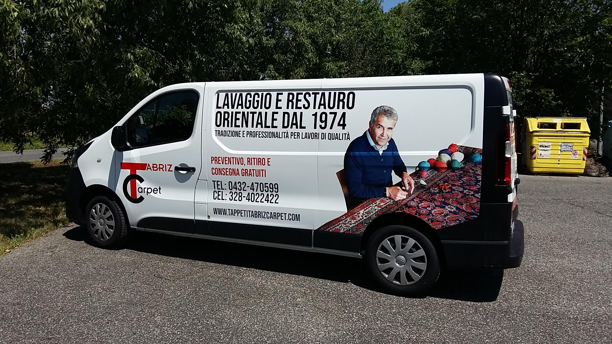 lavaggio tappeti Udine, pulizia tappeti persiani e moderni Udine