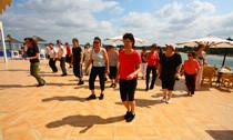 Line Dance auf Mallorca