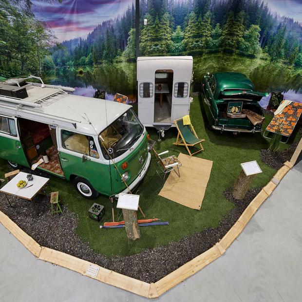 Dänische Ostseeinsel Fünen: Europas erstes Camping Outdoor Museum auf Schloss Egeskov eröffnet