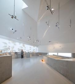Einblick ins Innere des neuen Wattenmeercenters. Foto: Adam Mørk/Vadehavscentret/PR