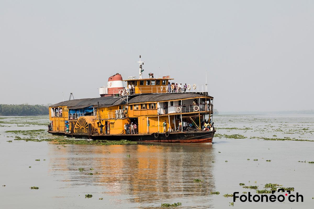 Raddampfer, Bangladesch