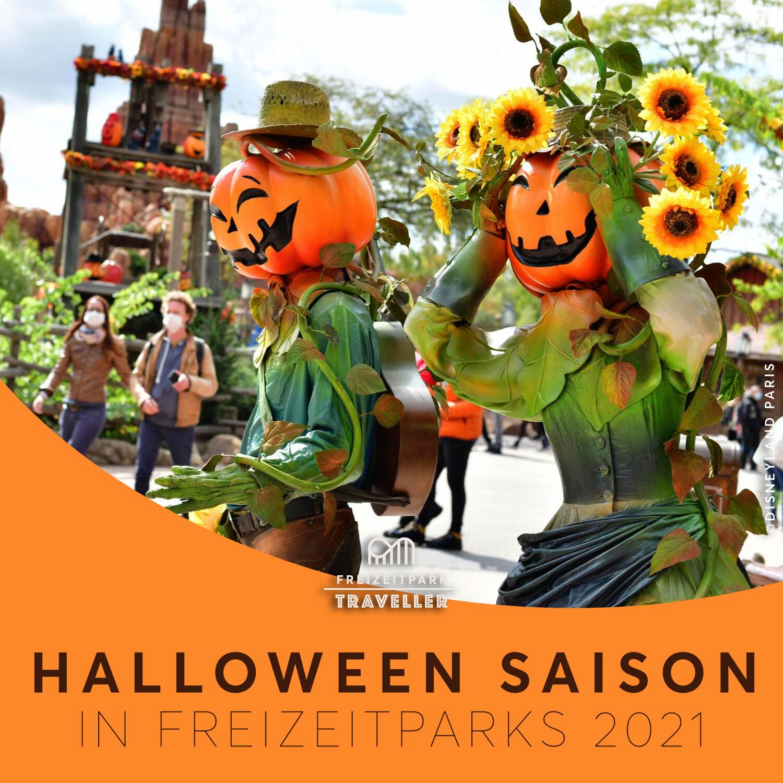 Tipps & Tricks für die Freizeitpark Halloween Saison 2021