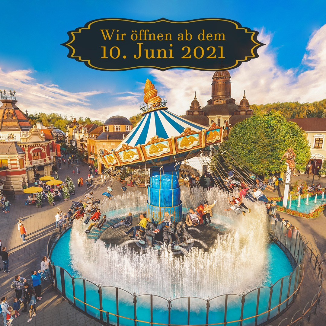 Öffnung des Phantasialand am 10. Juni 2021