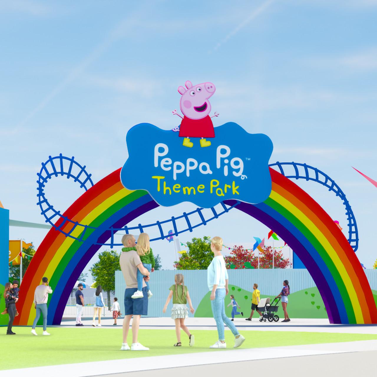 Weltweit erster Peppa Pig Freizeitpark Eröffnung im LEGOLAND® FLORIDA Resort im Jahr 2022