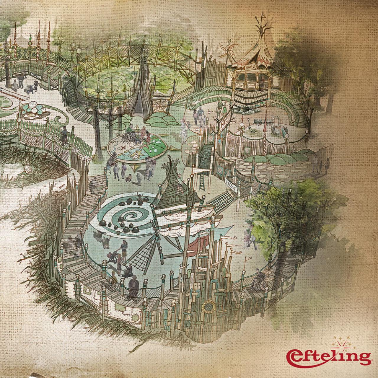 """Efteling eröffnet 2021 inklusiven Spielwald """"Nest!"""""""