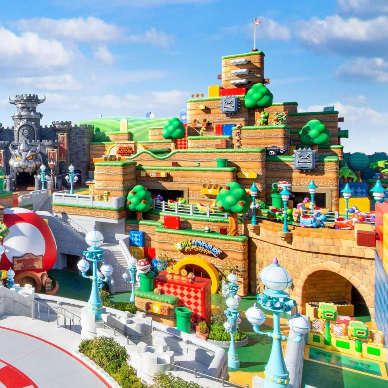 Super Nintendo World in Universal Studios Japan