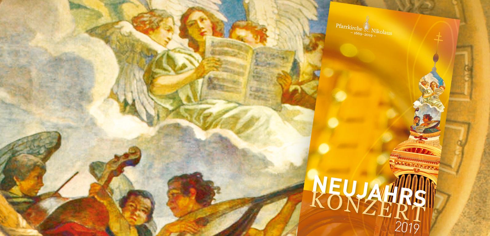 NeujahrsKonzert zum Jubiläum 350 Jahre Pfarrkirche Lockenhaus