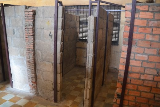 Zelle im Gefängnis